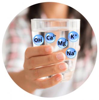 Ionizovaná voda s pH a ORP